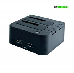 dock station b-move, 2.5/3.5 hdd, card reader, hub