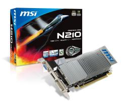 msi nvidia n210-md1g/d3 1gb