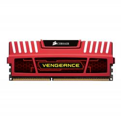memoria corsair ddr3 - 2x4gb - 1600mhz red edition
