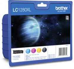tinta brother pack lc1280xlvalbp