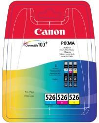 tinta canon pack cli-526 c/m/y