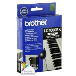 tinta brother negra lc1000bk