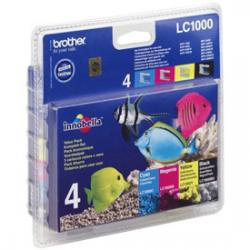 tintas brother lc1000valbp pack