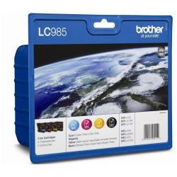 tinta brother pack lc985val