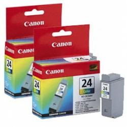 canon tinta color bci-24c pack 2