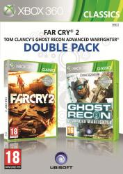far cry 2+ ghost recon advanced warfighter 2 x360