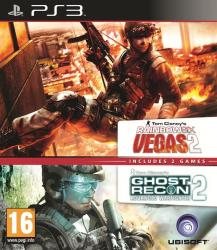 ghost recon advanced warfighter 2+ rainbow six vegas 2 ps3