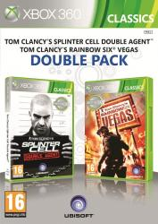 splinter cell double agent+ rainbow six vegas x360