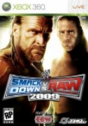 wwe smackdown vs raw2009 x360  ver. portugal (importacion)
