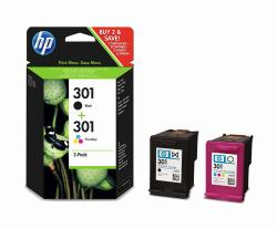 tinta pack hp 301