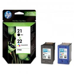 tinta hp pack hp 21/22