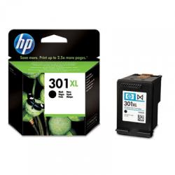 tinta negra hp 301xl
