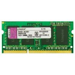 memoria sodimm 8gb kingston ddr3 pc1333 kvr1333d3s9/8g