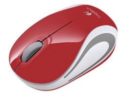 logitech mini wireless m187 rojo