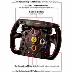 thrustmaster t500rs ferrari f1 whell add-on