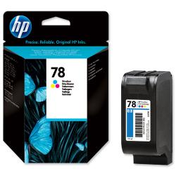 tinta color hp 78