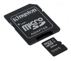 micro sd 32gb kingston clase 4