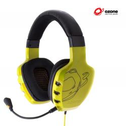 auricular gaming ozone rage st estéreo amarillo