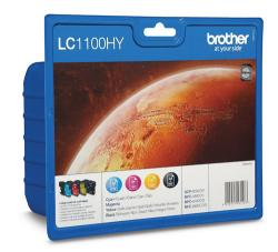 tinta brother pack lc1100hyvalbp