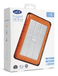 500gb lacie rugged triple usb 3.0 / firewire
