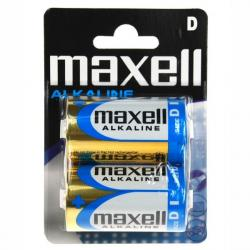 maxell kit 24x d cell lr-20 mxl 2pk
