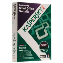 kaspersky small office security 3.0 5 pc + 1 servidor