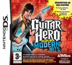 guitar hero modern hits nds