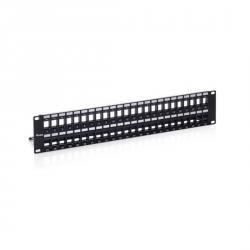 panel de parcheo equip panel parcheo 48 conectores cat6 2u