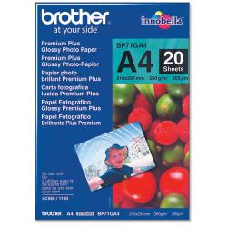 brother bp71ga4 premium plus glossy photo paper