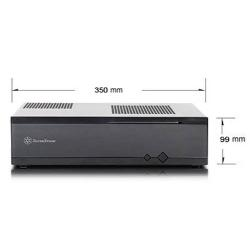 silverstone ml05b usb 3.0 negra. slim htpc (mini-itx)