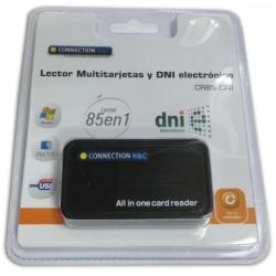 lector tarjetas connection + dni