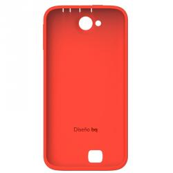 funda back cover roja bq aquaris 5