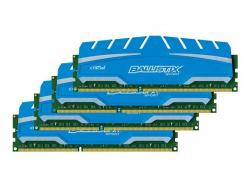 crucial ballistix sport xt series ddr3 1866 cl10 32gb kit