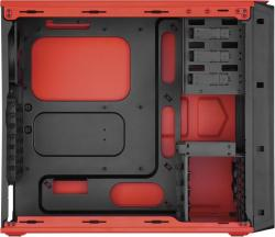 corsair graphite series 230t naranja ventana led naranja
