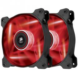 corsair air series af120 120x120mm led rojo 2 unidades
