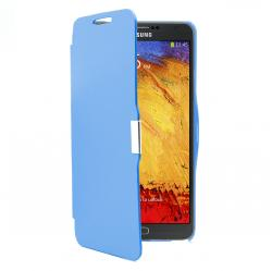 funda flip galaxy note 3 azul