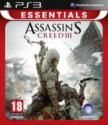 assassin's creed 3 essentials ps3