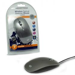 conceptronic raton optico usb gris