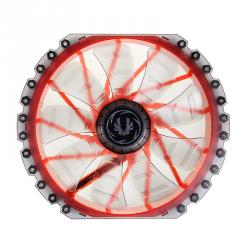 bitfenix spectre pro blanco led rojo 230mm