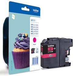 tinta brother magenta lc123m