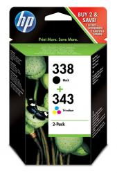 tinta pack hp 338/343