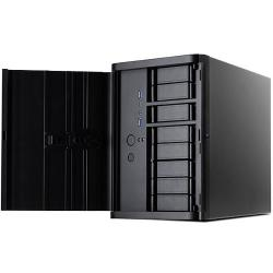 silverstone ds380b: caja mini-itx ideal para nas