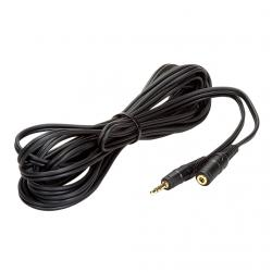 cable audio stereo jack 3.5m/jack 3.5h 5mts