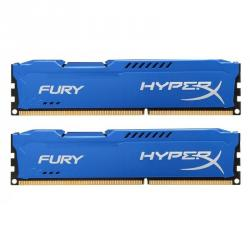 kingston hyperx fury blue series 8gb ddr3 1600 cl10