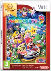mario party 9 selects wii