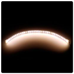 phobya led-flexlight highdensity 30cm blanco calido