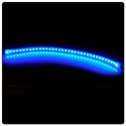 phobya led-flexlight highdensity 60cm azul