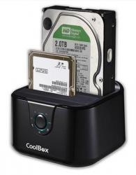 coolbox docking station 2.5/3.5 sata usb3.0