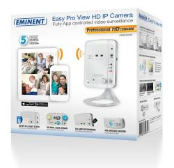 cámara ip eminent em6250hd wifi easy pro view hd