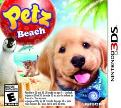 petz beach: animalz ¡diversión en la playa! 3ds